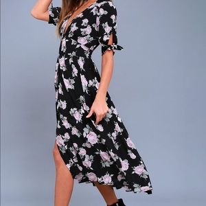 Free People Love of my Life Midi Dress (Floral)